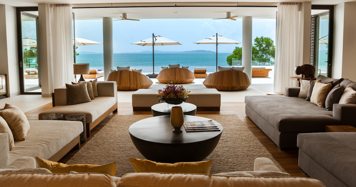 Family Room Phuket Luxury Villa - Real estate in Phuket