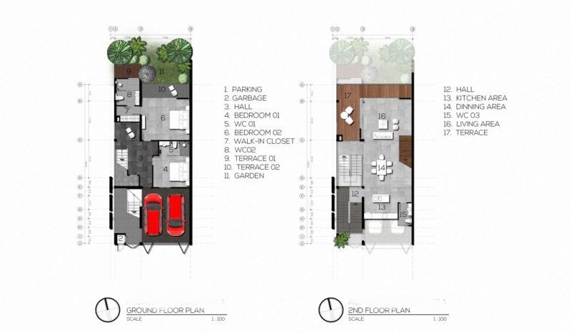 1st & 2nd FloorPlan (3Bed)