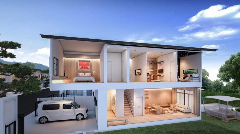 Japanese Loft Home For Sale Chalong Bay Phuket (13)