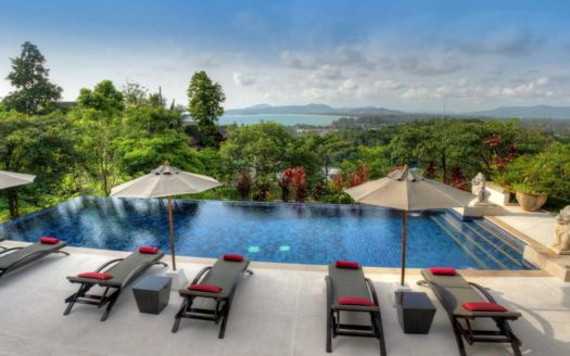 Pool Surin Beach Luxury Seaview Villa - Buying property in Phuket