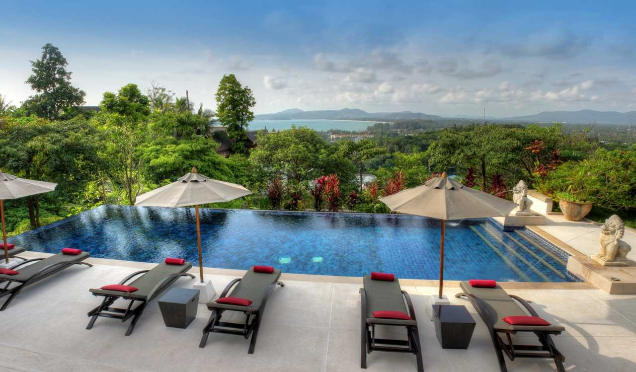 Pool Surin Beach Luxury Seaview Villa Ing Property In Et